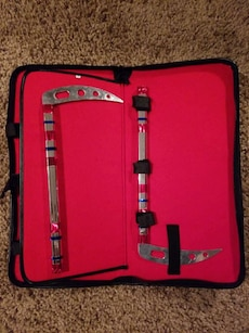 Kama Martial Arts Weapons with Case