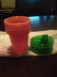 (New) 5 sippy cups/lids Huntington, 25703