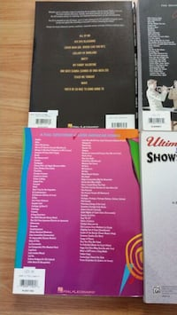 High quality music books. Hardly used. Less than half price. Mississauga, L5J 2W1