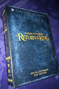 Lord of the rings special extended dvd edition