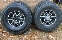 "315/70 Destination M/Ts on 8 lug Moto Metal 17"" Madison, 39110"