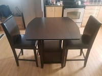 Bar style dining table & 2 chairs Bradford West Gwillimbury