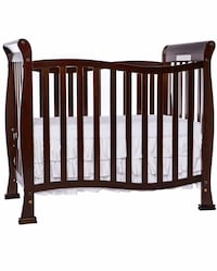baby's black wooden crib Washington, 20001