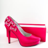 Barbie By Town Shoes Bright Pink Pumps Toronto, M3M 3G8