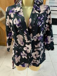 Brand new with tags floral blazer Toronto, M9N 1G2