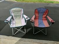 Pair of fold ip camping chairs w/cup holders Ewa Beach, 96706