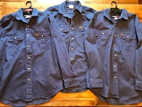 Selling 3 New Xl Wrangler Riggs Long Sleeve Work Shirts Cambridge, N3H 1W4