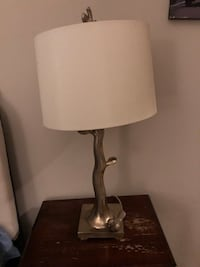 Faux Gold Lamp with Bird Detail on Bottom Gaithersburg, 20878