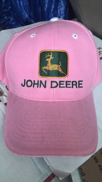 New Ladies John Deere cap/ one size fits all Pearl, 39208