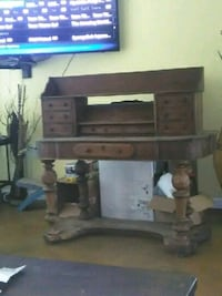 black and gray TV stand Baton Rouge, 70806