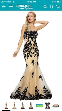 Woman's evening gown - brand new! Alexandria, 22310