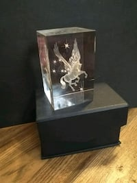 Gorgeous Pegasus Lazered Glass Display Ottawa, K1Z 8H4
