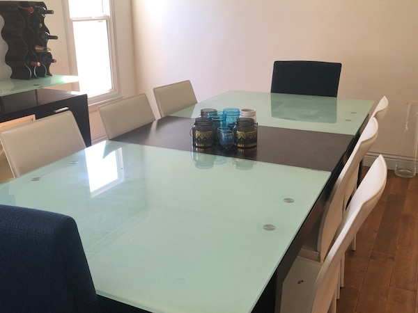 Used Dining Table And Sideboard Plummers Scandinavian Furniture In Great Condition For Los Angeles Letgo