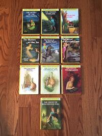 Nancy Drew Hardcover Books by Carolyn Keene (Like New!) Burlington, L7L 5W9