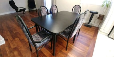 Dining table & 6 chairs set