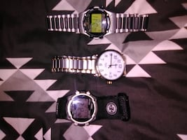 3 timex indigloo watches never worn