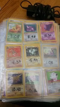 Pokemon trading card collection Will sell individually Calgary, T2G 0C2