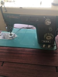 green and gray Modernage electric sewing machine Social Circle, 30025