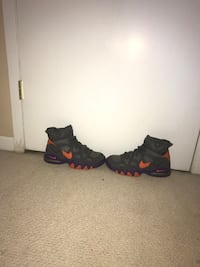 pair of black-and-red Nike basketball shoes Nesconset, 11767