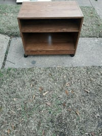 Small brown wooden Tv stand with 2- shelf Norfolk, 23513