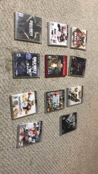 assorted PS3 game case lot Edmonton, T6L