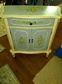 "Small hand painted cabinet 30"" L 12""D 32""H Alexandria, 22315"