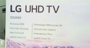 """New Television LG 55"""" Ultra high definition  SMART"""