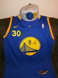 Curry jersey special edition and hat Portage, 49024