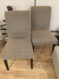 Nearly brand new IKEA chairs Vancouver, V6J 1Z9