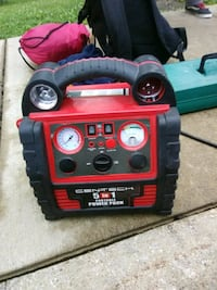red and black portable generator Akron, 44310