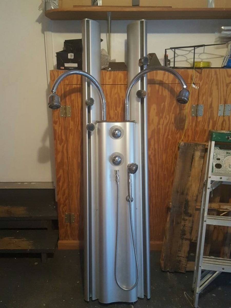Used Kohler K-498-SS WaterHaven Custom Shower Tower in ...