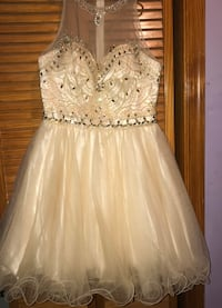 Champagne homecoming dress Silver Spring, 20902