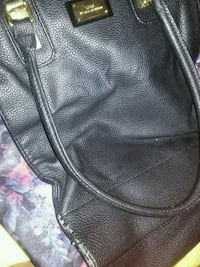 black and gray leather handbag Virginia Beach, 23452
