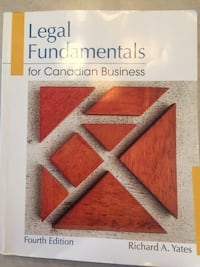Business Law textbook  Lethbridge, T1H 4A4