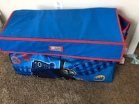 blue and red Little Tikes bag Mechanicsville