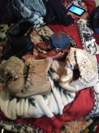 Women's boots (size 9 except cowboy boots are size 6) Calgary