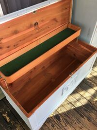 Beautiful Baby Blue Cedar Chest  Quincy, 02169