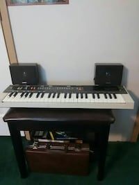 black and gray electronic keyboard Payson, 85541