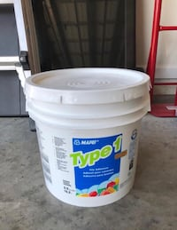 Mapei Type-1 White Adhesive - Tile Mortar - Little over 1 gallon left Parrish, 34219