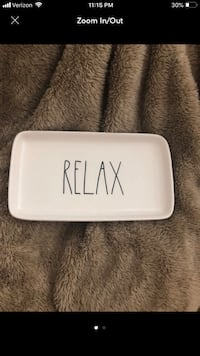 Rae Dunn Relax Tray Chicago, 60605
