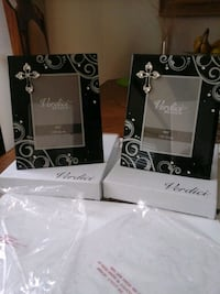 two black wooden framed mirrors Whitchurch-Stouffville, L4A 0J5