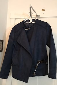 AC Luxury Collection blue suede jacket Richmond, V6X