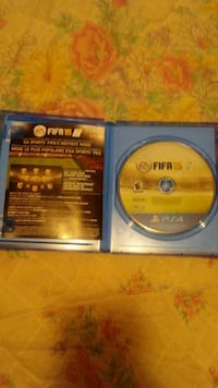 Fifa 15 Sony PS4 game disc