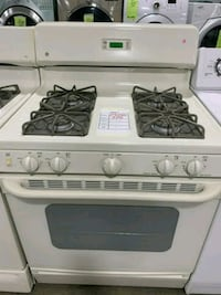 "GE 30"" NATURAL GAS RANGE BISQUE $215 #29040 Hempstead, 11550"