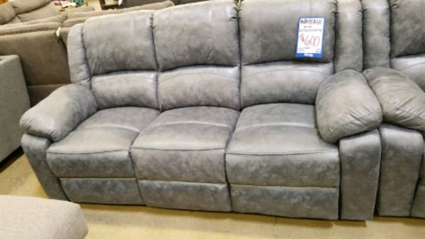 Big Box Outlet Store-Blue Sofa