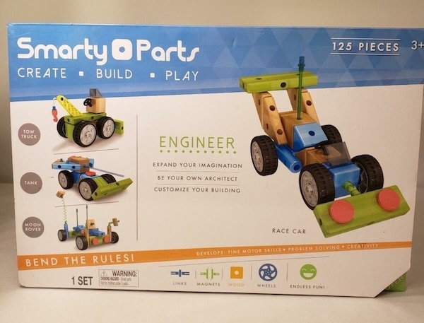 STEM Smarty Parts Engineer Set ( 125 pieces) ~New in box~ 14e4c057-3b2d-4be3-b583-d442c5a48bdf