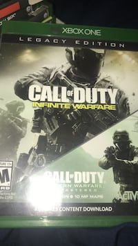 Call of duty infinite warfare and call of duty modern ware fare remastered New Waterford, 44445
