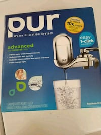PUR Water filtration system  College Park