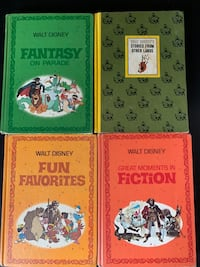 1970 Walt Disney Adult/Children Books Barrie, L4M 6X9