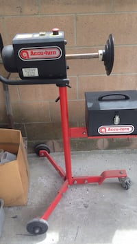 black and red Troy-Bilt pressure washer